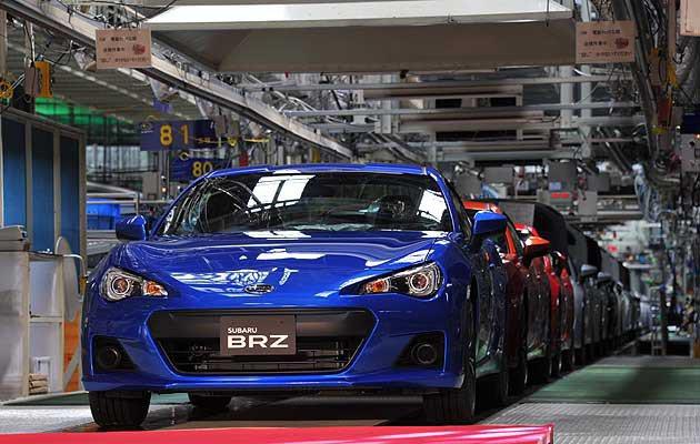 Subaru是日本在機械工藝上不斷陳出新的車廠 Subaru