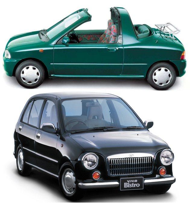1995年上市的迷你車Vivio Subaru
