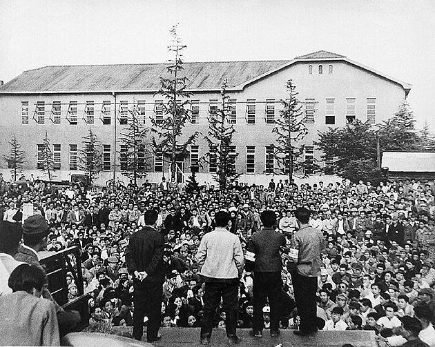 1950年代豐田面臨嚴重財務危機與勞資紛當年工人因令不到薪資而走上街頭。 Lex...
