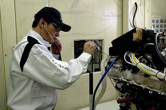 Lexsu對品管的要求十分嚴格並透過各種品管競賽達到完裝水準的高標。 Lexus