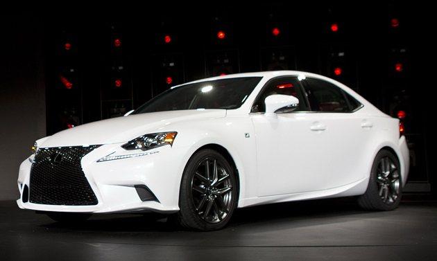 全新2014年式IS車系更顯見Lexus的設計實力。 Lexus