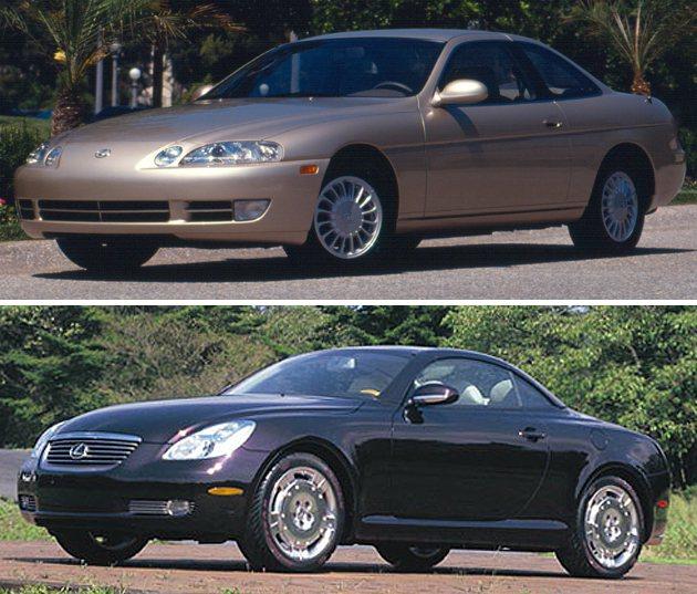 在LS400成功打下江山之後,Lexus隨即推出SC300訴求更年輕的買家,下為...