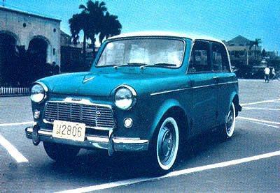 1960年裕隆取得日產授權在台組裝生產青鳥小轎車。 圖/Luxgen