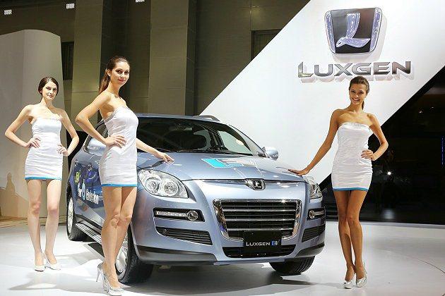 Luxgen預定2013年在俄羅斯組裝販售。圖為2012年在俄羅斯車展中示Lux...