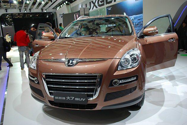 納智捷大7 SUV在大陸上市熱銷,一年多就創下四萬台以上的銷售量。 趙惠群