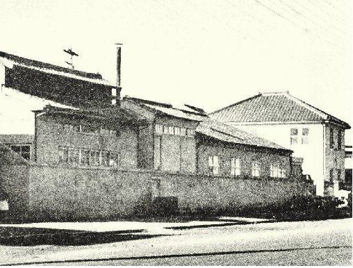 1952年本田位於濱松山下町的山下工廠。 Honda