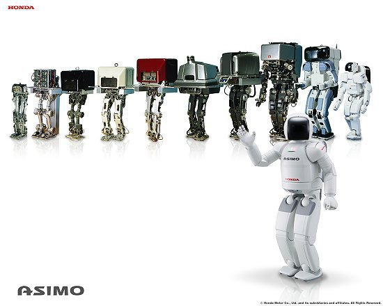 ASIMO機器人是本田宗一郎另一個偉大的夢想,著眼於人類未來移動的需求。 Hon...