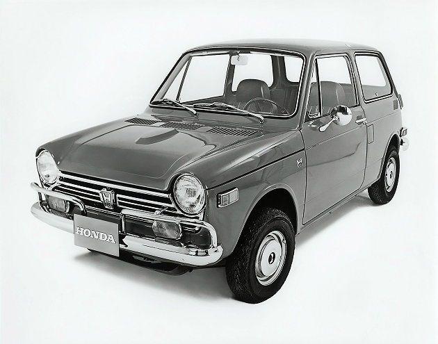 輕型雙門掀背車N600。 Honda