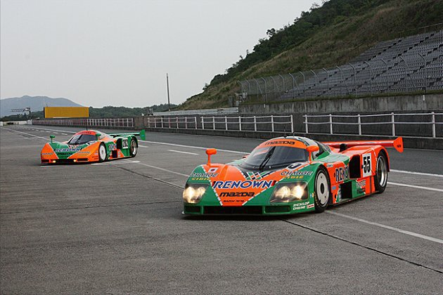 20年前利曼大賽轉子引擎賽車一鳴驚人。 Mazda