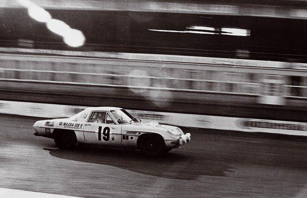 Mazda轉子引擎賽車擁有光榮傳統,在1968年8月一台Cosmo 110在紐柏...
