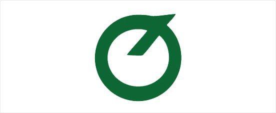 1960年KIA的品牌商標,紀念創業20周年,用了KIA和機械工業的韓文字母拼成,並結合了三輪車造型。 KIA提供