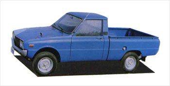 代號B-1000的Brisa Pick-Up貨卡。 KIA提供