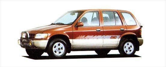 1990年代KIA新車都融合了福特或MAZDA的資源,如Sportage是以MA...