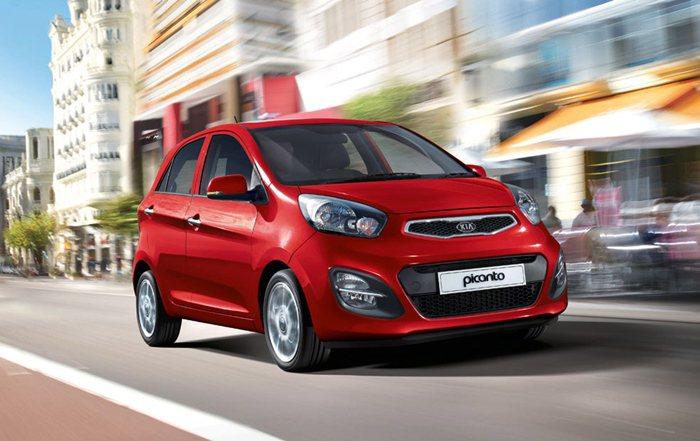 台灣稱之為Morning的都會小車Picanto同時獲得iF和紅點設計大獎。 K...