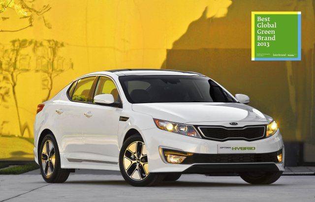 此外,KIA也是全球50大綠色品牌排名第37名。KIA近年不斷加速推出綠能車款,如Optima Hybrid油電複合動力車。 KIA提供