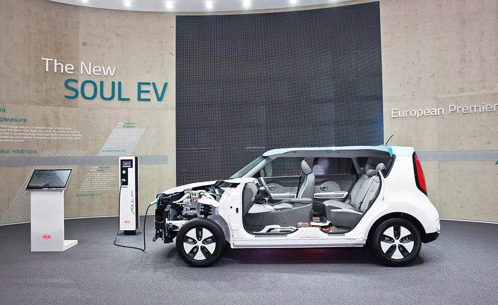 Soul今年推出EV電動車型。 KIA提供