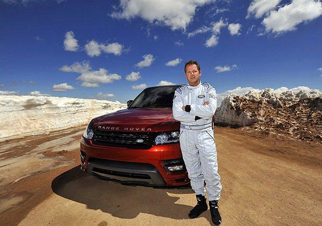 Paul Dallenbach與Range Rover Sport。 Land ...