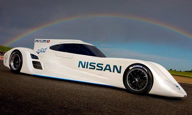 ZEOD RC外型就是DeltaWing賽車的實現。 Nissan