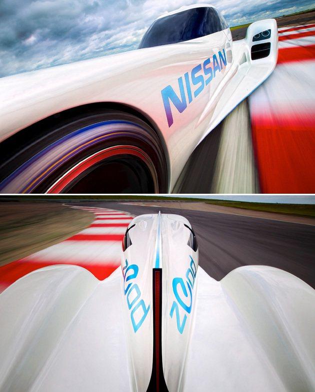 纖細的車身,輕量化是主要訴求。 Nissan