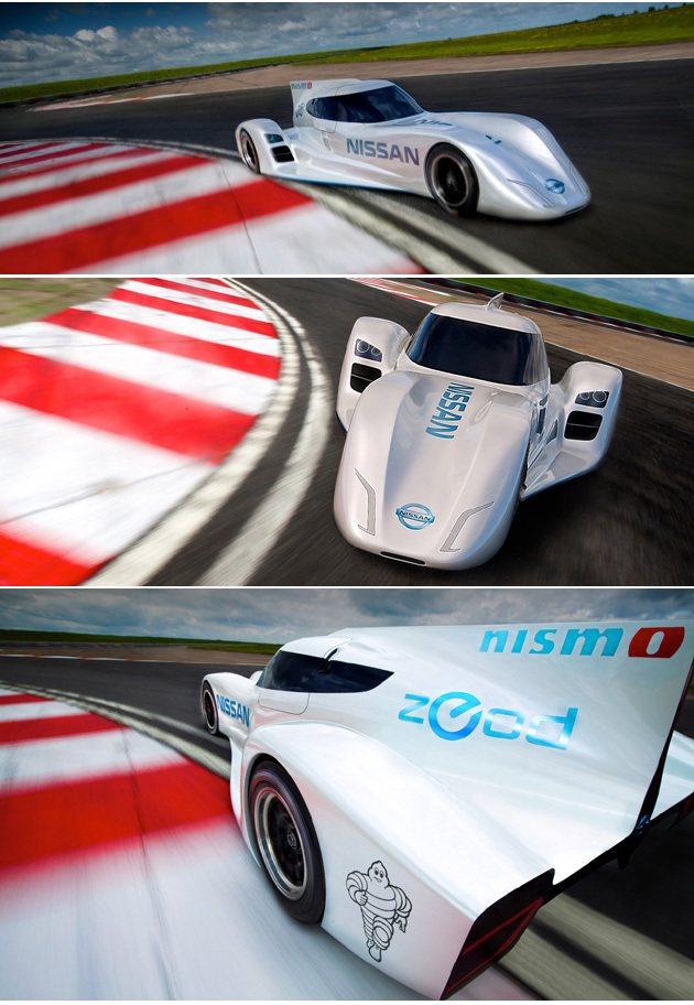 極速可達300km/h,新世代動力系統將更受矚目。 Nissan