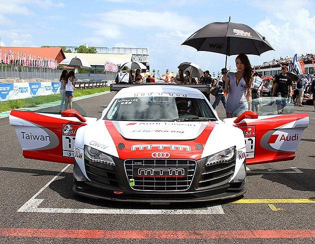 R8 LMS現身大鵬灣。 Audi Taiwan