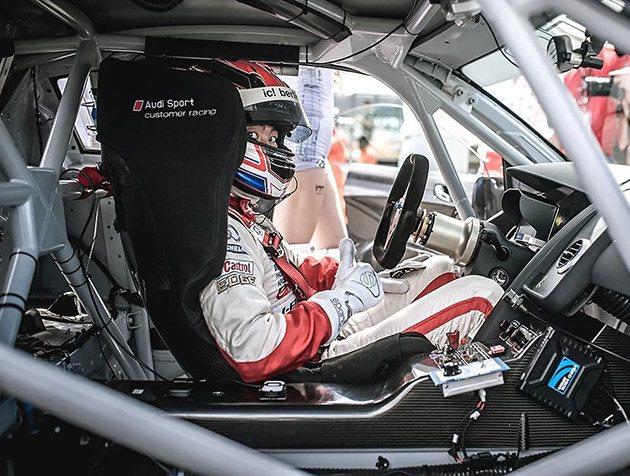 李勇德今年在R8 LMS晉升為專業組。 Audi Taiwan