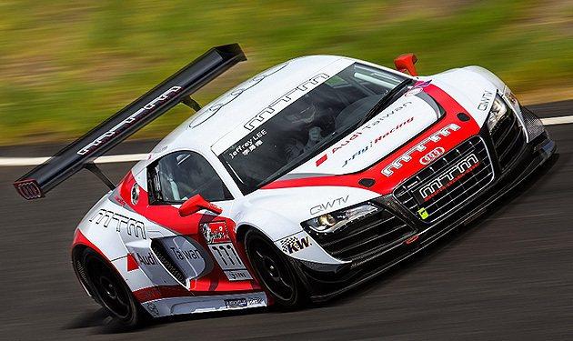 R8 LMS是國際上幾個知名的統一規格賽。 Audi Taiwan
