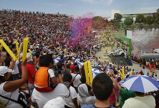 WRC每年都吸引不少車迷與觀眾欣賞。 WRC官網