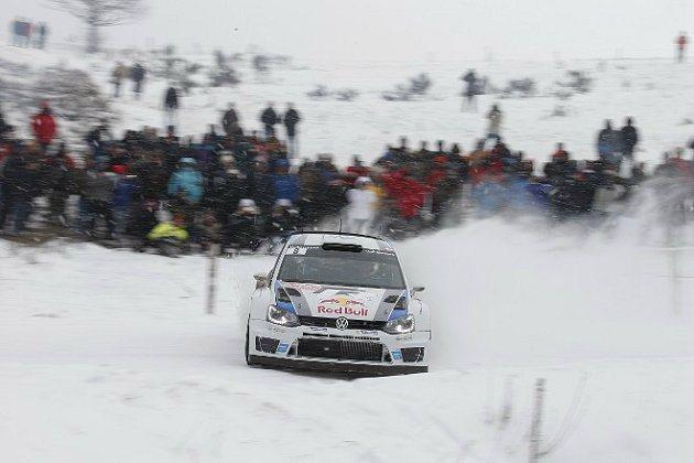 艱難的雪地賽道,WRC可說是有路就可比賽。 WRC官網