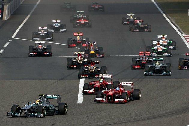 2013年F1下半季仍很有看頭。 F1官網