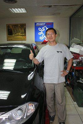 盧政義希望持續傳承賽車經驗。 林和謙