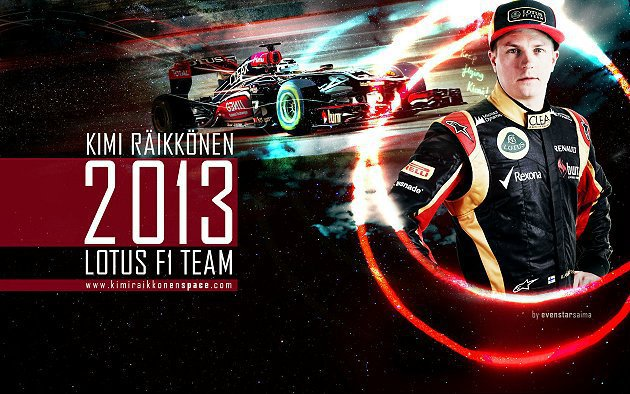 Kimi Raikkonen已連續27場分站賽都拿下積分。 kimiraikkonenspace