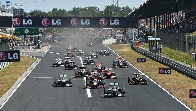 F1下半部賽事仍相當有看頭。 F1官網