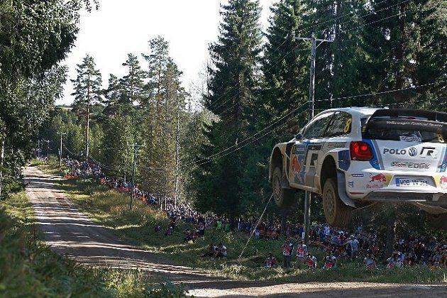 Sebastien Ogier駕駛的VW賽車。 WRC官網提供