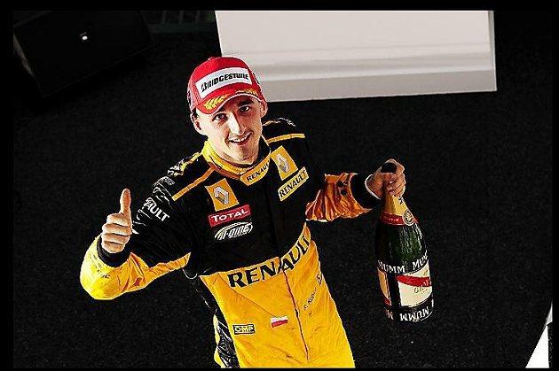 前F1車手Robert Kubica展現實力與拼勁。 F1提供