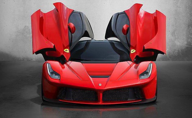 Ferrari新世代的油電超跑LaFerrari。 Ferrari提供