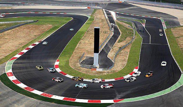 韓國仁濟Speedium賽道彎道俯瞰 Lamborghini