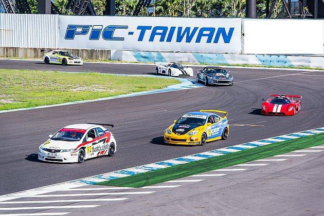 台灣大賽車第三站賽事已通過FIA認證正式升格為國際賽。 大鵬灣國際賽車場提供