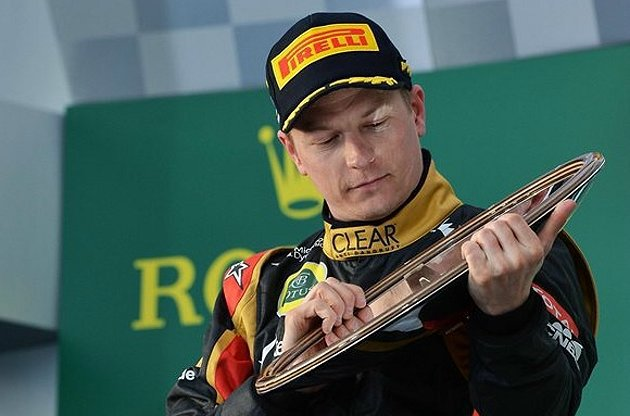 Kimi Raikkonen要更加把敬超越Vettel。 F1官網提供