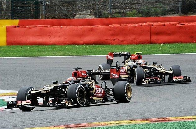 Kimi Raikkonen因為煞車出問題而退賽。 F1提供