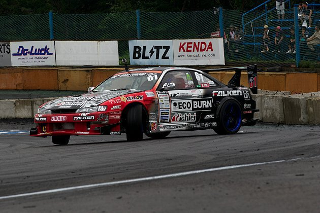 阿稚的戰駒Nissan Silvia S14。 馮仁稚提供