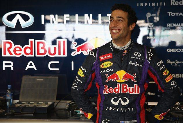 Daniel Ricciardo將在2014 F1賽季擔任 Red Bull車手。 Red Bull提供