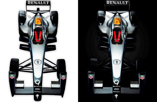 Renault SRT_01E單座電動賽車集結各家資源。 Formula E