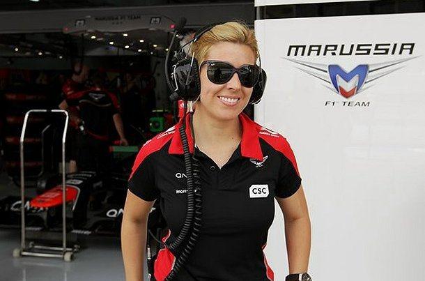 Maria對嚮往賽車運動的年輕人、尤其是年輕女孩來說,是一個很大的鼓勵。 F1官方提供