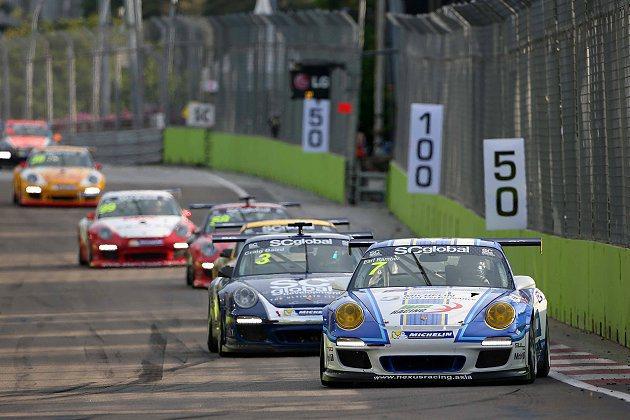 2013亞洲保時捷卡雷拉盃收官戰將於10月25-27日舉行。 Porsche Carrera Cup Asia提供