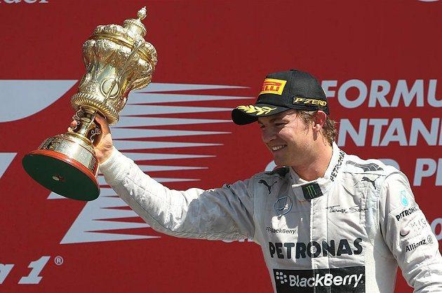 Mercedes車隊德國車手Nico Rosberg。 F1提供