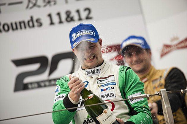 Nexus GSH Racing的車手班博拿下總冠軍。 亞洲保時捷卡雷拉盃提供