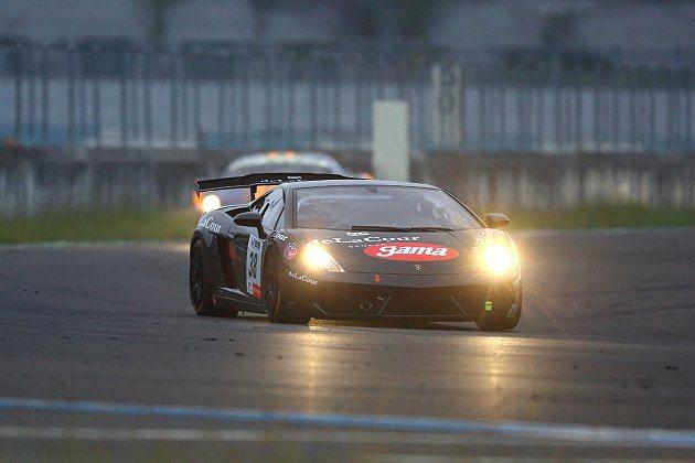 Gama Racing Team林帛亨駕駛Lamborghini Gallard...