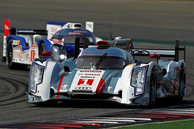 駕駛1號Audi R18 e-tron quattro賽車的Benoit Tre...