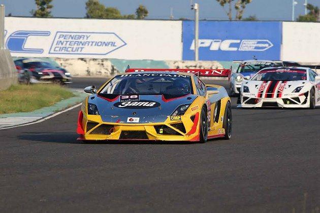 Gama Racing 38號車奪得2013 OTGP GT Challenge...